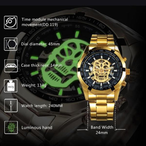 Skeleton Skullex Watch