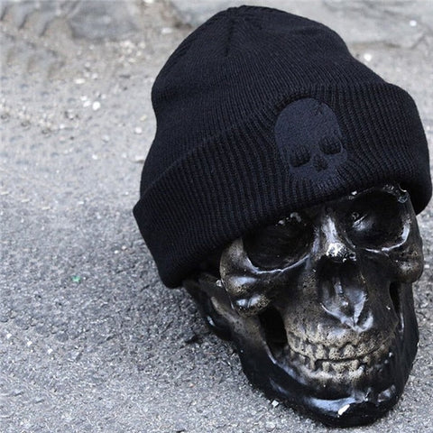 Image of River Skull Head Beanie