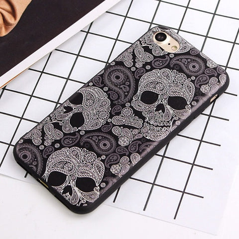 Image of Hudson Skull Phone Case