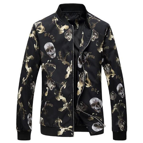Image of Titus Mens Skull Jacket