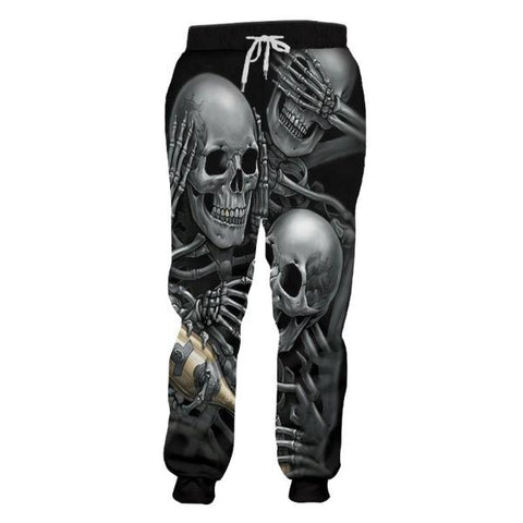 Image of Henley Skull Track Pants