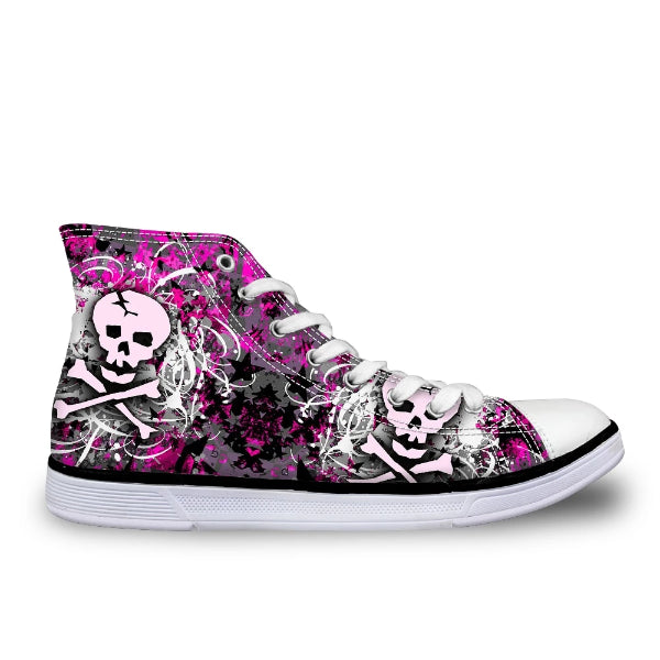 Medea Punk Skull High Tops