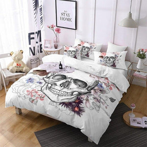 Amaris Skull Bedding Set