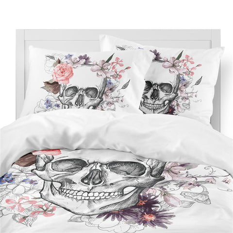 Image of Amaris Skull Bedding Set