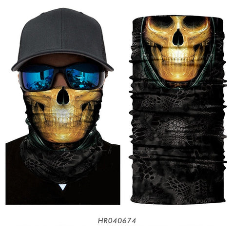 Jaxon Skull Face Shield