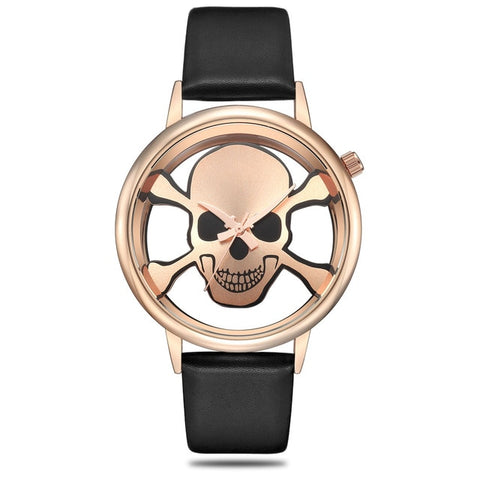 Image of Andrea Womens Skull Watch