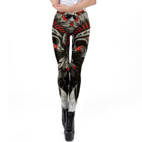 Ivy Skull Chief Leggings
