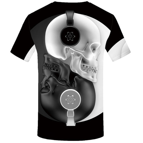 Image of Diagon 3D Beats Skull Tee