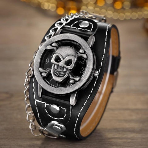 Micah Skull Chain Watch