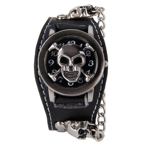 Image of Micah Skull Chain Watch Sale