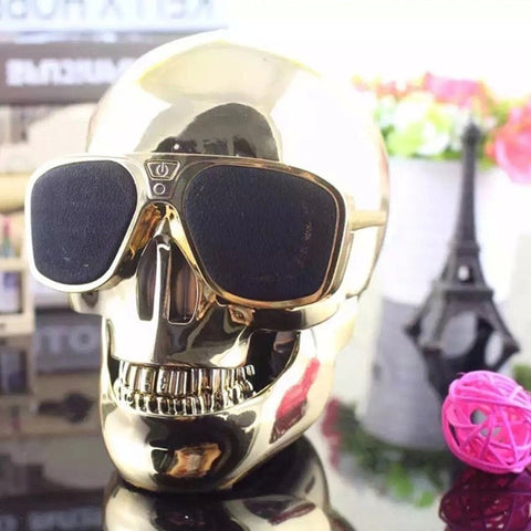 Image of Bates Skull Bluetooth Speaker