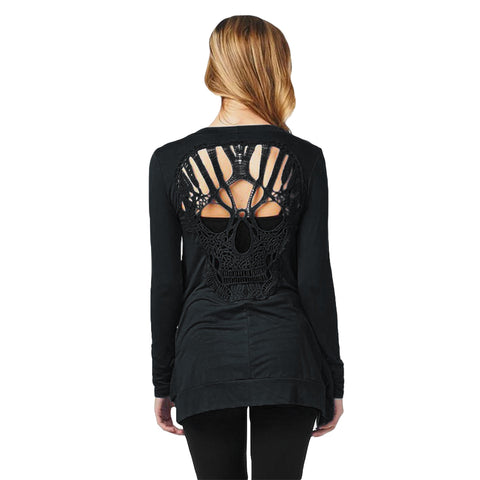 Image of Nevada Skull Cardigan