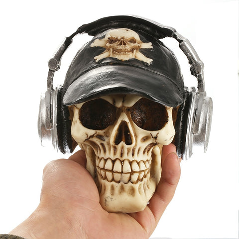Zoot Resin Headphone Skull
