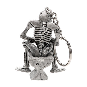 Chet Skull Toilet Key Chain
