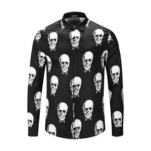 Garret Mens Skull Shirt