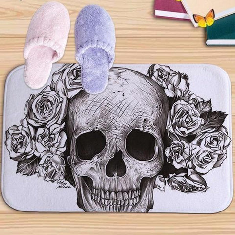Image of Flavia Skull Bath Mat