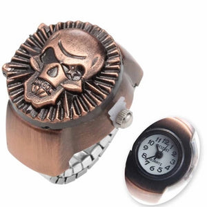 Dante Skull Watch Ring