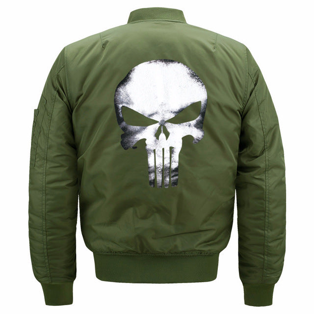 Knox Mens Punisher Bomber Jacket