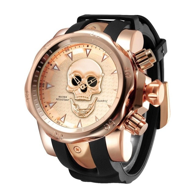 Ingram Skull Watch
