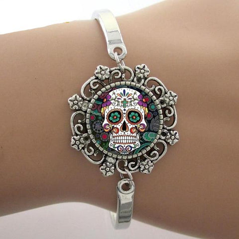 Image of Tandy Sugar Skull Bracelet