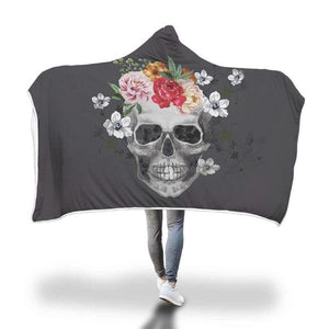 Hedley Hooded Skull Throw Blanket