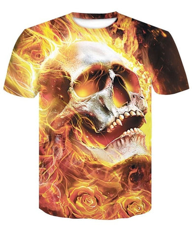 Image of Alden Skull T Shirt