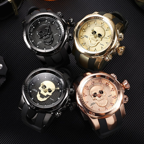 Image of Ingram Skull Watch