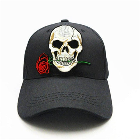 Image of Adin Rose Skull Cap