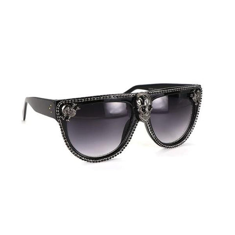 Image of Calista Skull Sunglasses