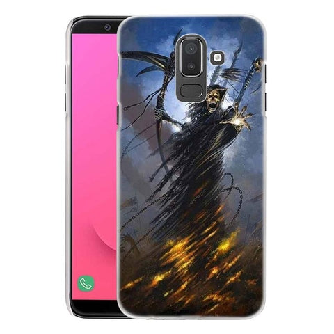 Image of Aubrey Skull Reaper Phone Case