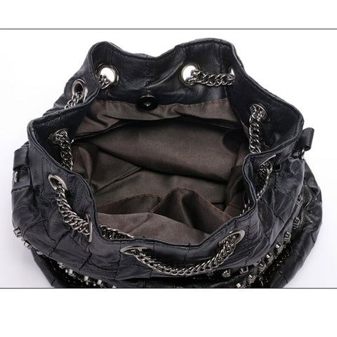 Amaris Rivet Skull Bag
