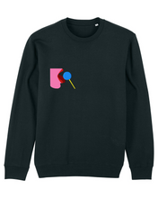 Load image into Gallery viewer, I licked it, so it's mine! - Sweatshirt - black