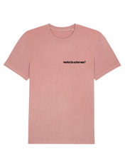 Load image into Gallery viewer, Merkst du schon was? - T-Shirt - that salmon color