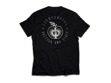 Load image into Gallery viewer, Pomme d'amour (T-Shirt - black) - Bretter & Stoff