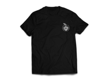 Load image into Gallery viewer, Liebesapfel (T-Shirt - black) - Bretter & Stoff
