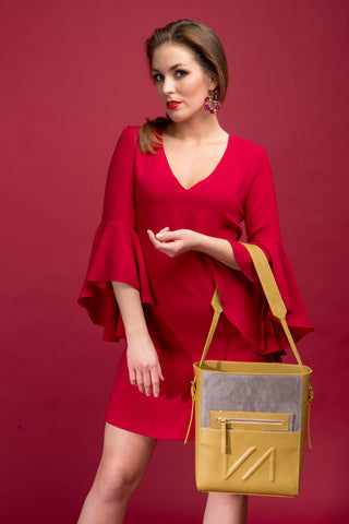 Shopper 2 IN 1 - MUSTARD