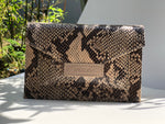 ***NEW***LILLY multi talent BAG - PYTHON
