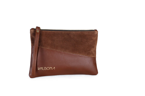 ***LAST PIECES***POCHETTE GRANDE - BROWN