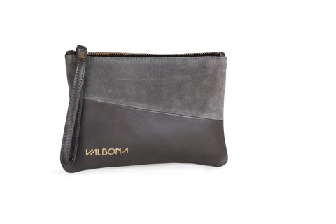 ***LAST PIECES***POCHETTE GRANDE - GRAY