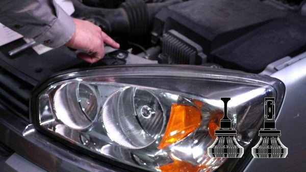 Can you replace headlight bulbs with LED?
