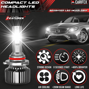 Carifex headlights bulb Compact LED Headlight - H1