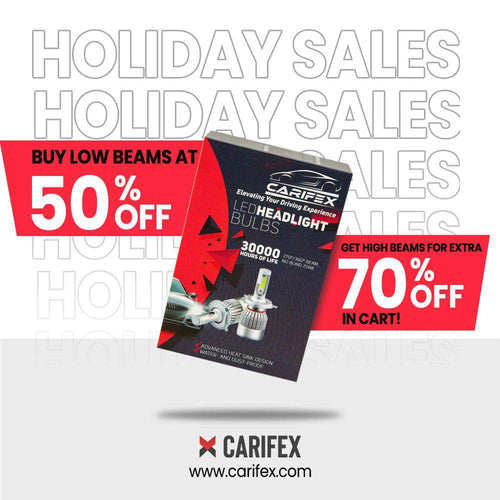 Carifex headlights bulb LOW BEAM - 50% OFF CARIFEX® Holiday Special