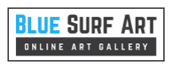 Blue Surf Art