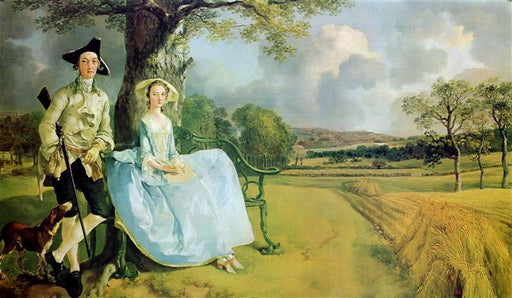 Mr. and Mrs. Andrews by Thomas Gainsborough