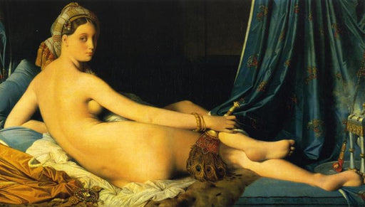 """The Grande Odalisque, 1814"" by Jean Auguste Dominique Ingres"
