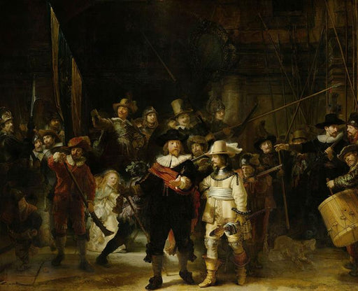 """The Nightwatch, 1642"" by Rembrandt Harmenszoon van Rijn"