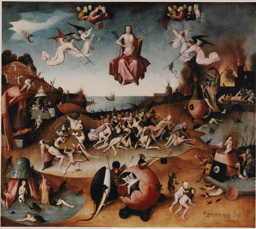Last Judgement by Hieronymus Bosch I Blue Surf Art