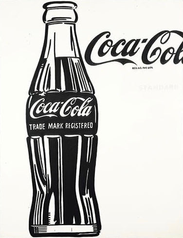 COCA COLA 1962 Oil Painting