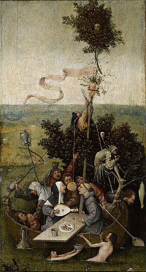 Ship of Fools by Hieronymus Bosch I Blue Surf Art