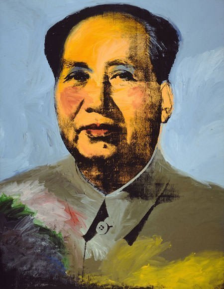 Mao Warhol 1973 Oil Painting